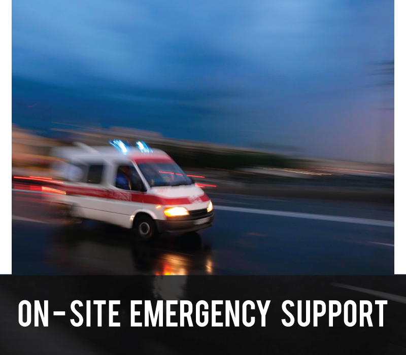 On-Site Emergency Support